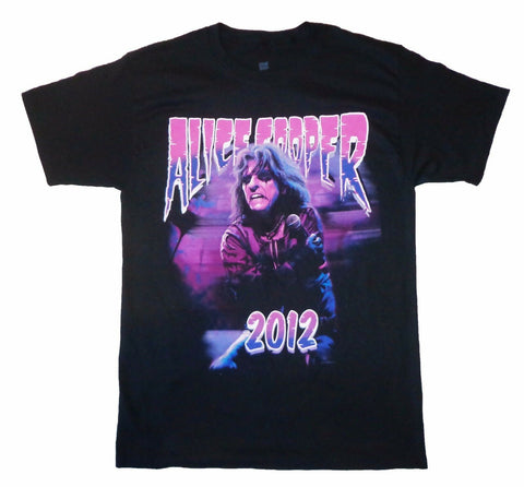 ALICE COOPER - Holding Mike - T-Shirt