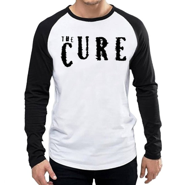 The Cure T-Shirt Long Sleeve Male Band The Cure Logo T Shirt long sleeve - Kool Cat Records T Shirts N More