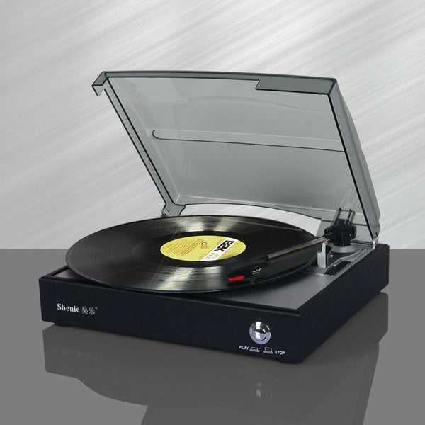 Douk Turn Table Record Player - Kool Cat Records T Shirts N More