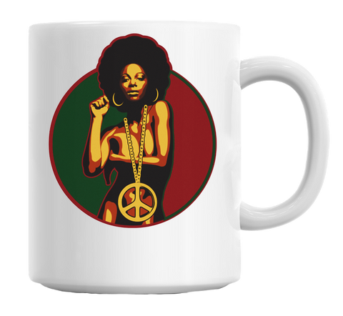 Power To The People Mug - Kool Cat Records T Shirts N More