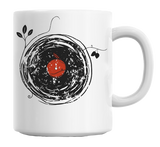 Enchanting Vinyl Record Mug - Kool Cat Records T Shirts N More