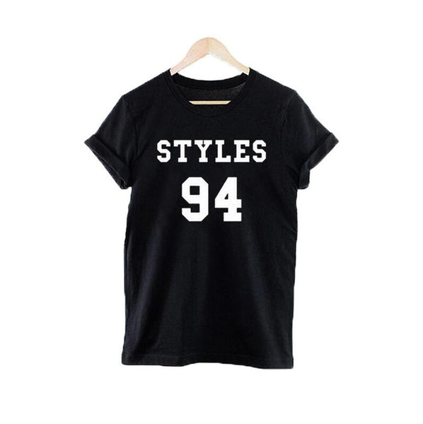 One direction 1D Music Rock Band Boys Varsity tumblr Women Tshirt Punk Harajuku Tee Shirt Femme - Kool Cat Records T Shirts N More