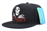The Misfits Band Snapback Caps The Misfits Punk Metal Rock Cool Skulls Black