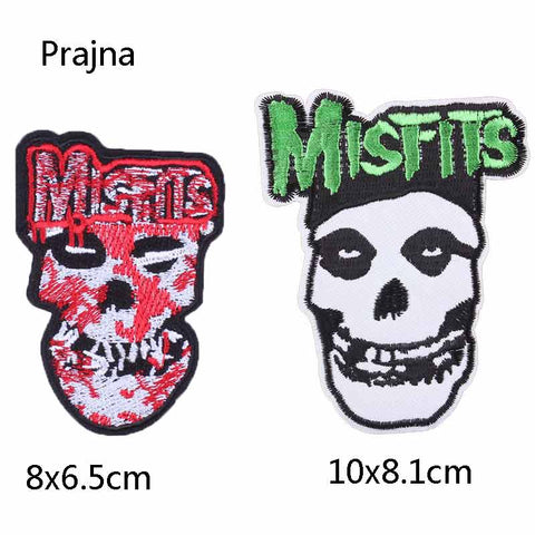 Misfits Patches for jackets four different designs to choose from