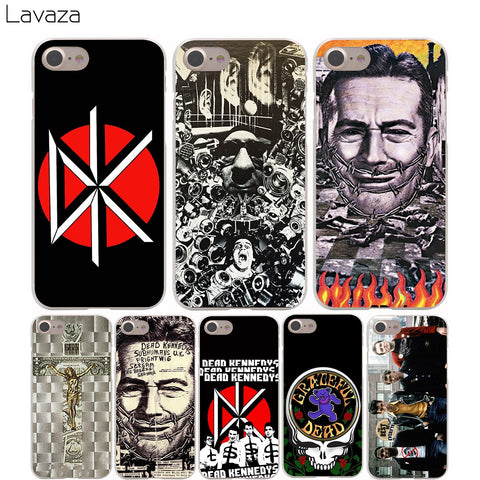 Dead Kennedys Cover Case for iPhone X 10 8 7 Plus 6 6S Plus 5 5S SE 5C 4 4S Cases