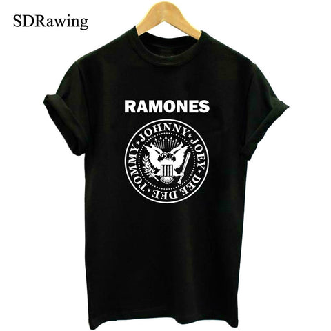 Rock Band Ramones unisex  T Shirts