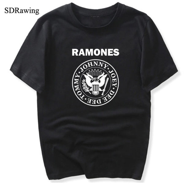 Rock Band Ramones unisex  T Shirts - Kool Cat Records T Shirts N More