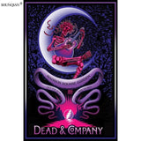 Grateful Dead Poster Silk Fabric Print Poster - Kool Cat Records T Shirts N More