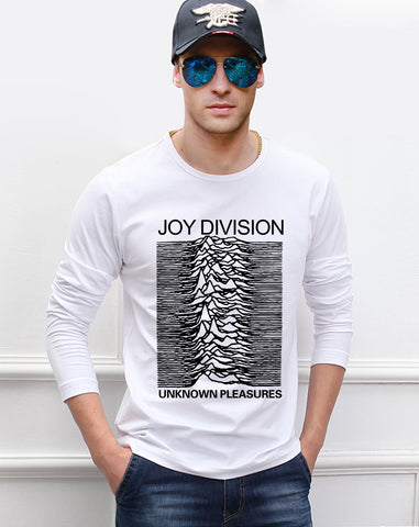 Joy Division Rock Band Music  men's long sleeve T-shirt hip hop