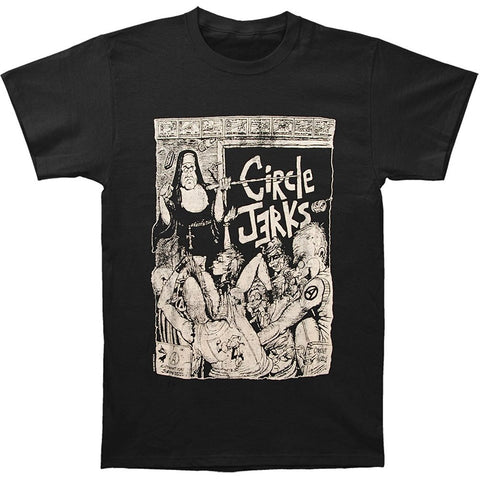 Circle Jerks unisex 100% Cotton T Shirt