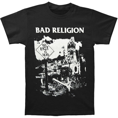 Bad Religion Men's The Past Is Dead T-shirt Black  Short Sleeve available in  Plus Size