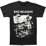 Bad Religion Men's The Past Is Dead T-shirt Black  Short Sleeve available in  Plus Size - Kool Cat Records T Shirts N More