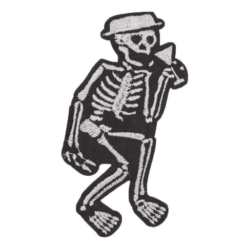 Social Distortion Skeleton Band Iron On/sew On Patch Tshirt Transfer Motif Applique Rock Punk Badge - Kool Cat Records T Shirts N More