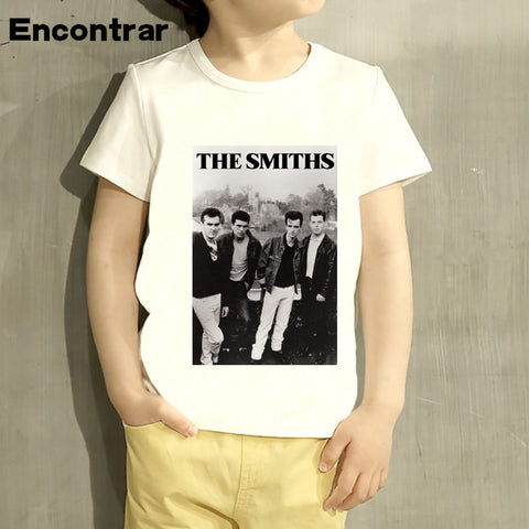 Kids The Smiths England Rock Band 1985 Design Baby Boys/Girl TShirt Kids Short Sleeve - Kool Cat Records T Shirts N More