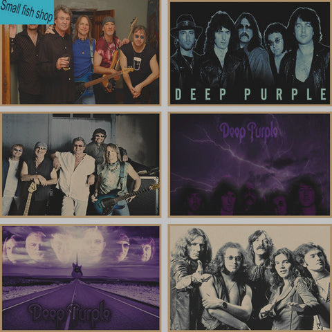 Deep Purple Poster wall Decor choose your favorite