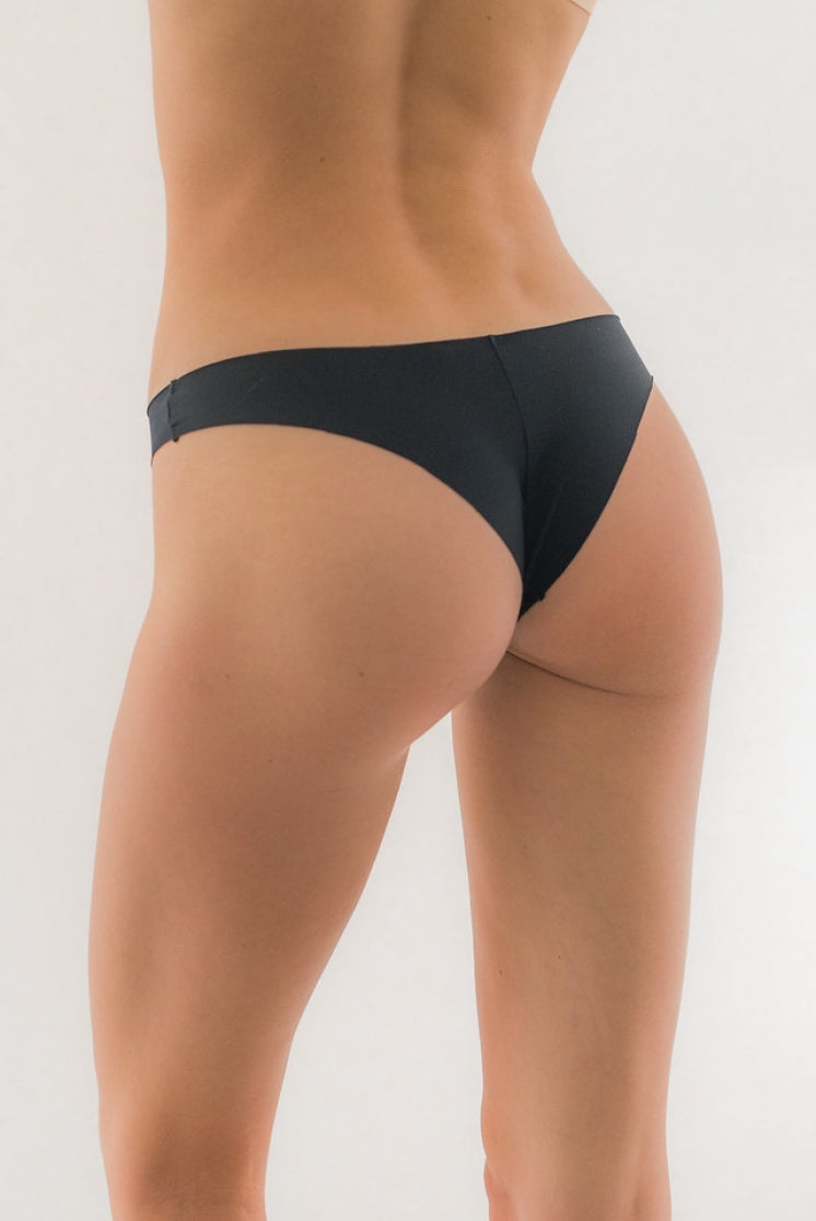 Seamless Brazilian Cheeky Black