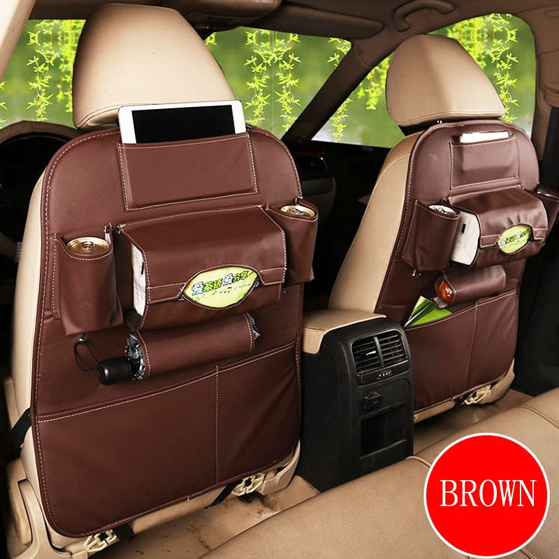 Car seat storage Hanging bag Car child safety seat car seat back bag multifunction storage