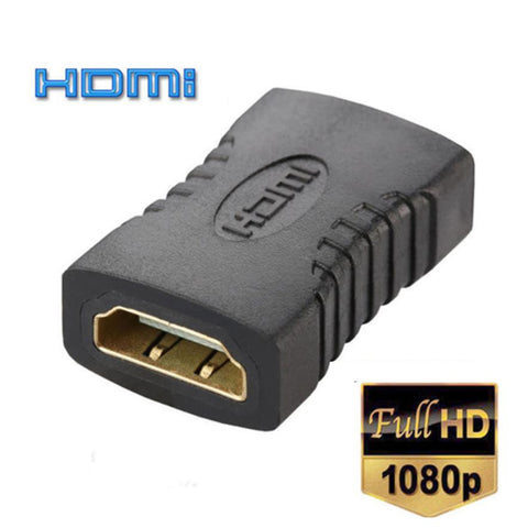 FREE OFFER. Gold Plated. HDMI Female to Female Coupler Extender Adapter Connector F/F for HDTV HDCP 1080P From Close-out Sale