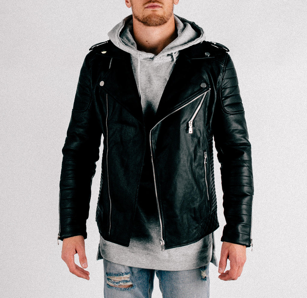 Nomad Leather Jacket - Black