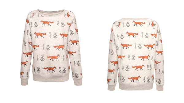 fox sweatshirt lavielente