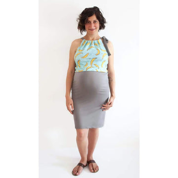 Banana Blue Maternity Wear And Nursing Dress For Breastfeeding - Maternity & Nursing Dress
