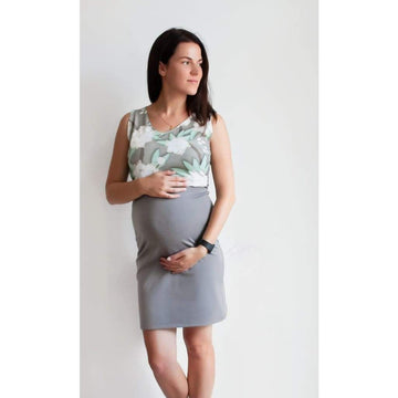 Floral Maternity Gown And Nursing Dress For Breastfeeding - S - Maternity & Nursing Dress