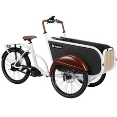 The Coupe Electric Cargo Bike (White)