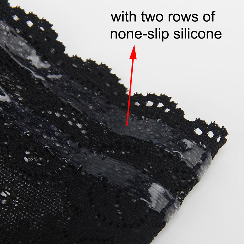 close up of the non slip silicone