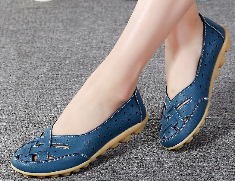 comfortable to wear and very stylish is the nodule lattice shoe