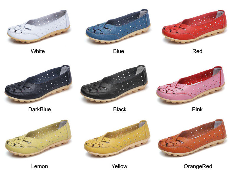 breathable lattice nodule shoe is available in a range of colours