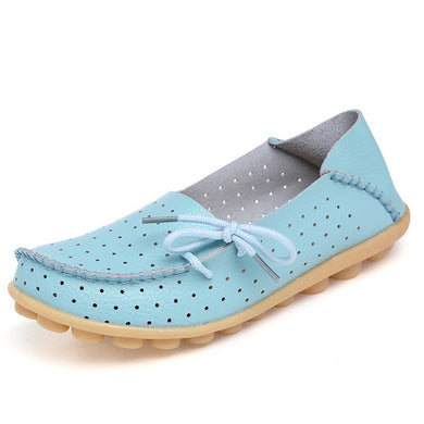 Light Blue Breathable Side Lacing