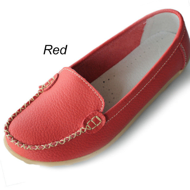 Red Smooth Casual