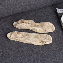 Sexy Cotton Lace Low Cut Socks