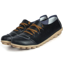 Black Lace Up Nodule Shoes