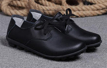 Black Classic Lace Up with Black Nodule Sole