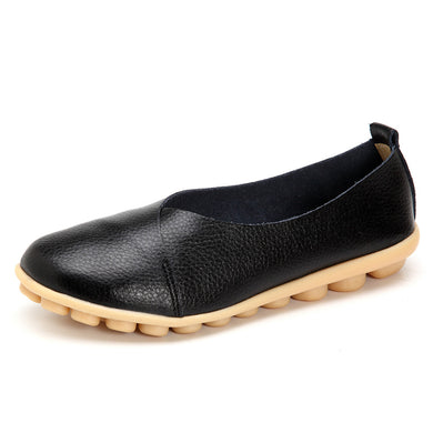 Black Round Toe Smooth Natural Rubber Nodules