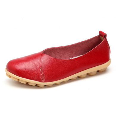 Red Round Toe Smooth Natural Rubber Nodules