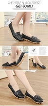 Black Breathable Double Buckle Nodule Shoes