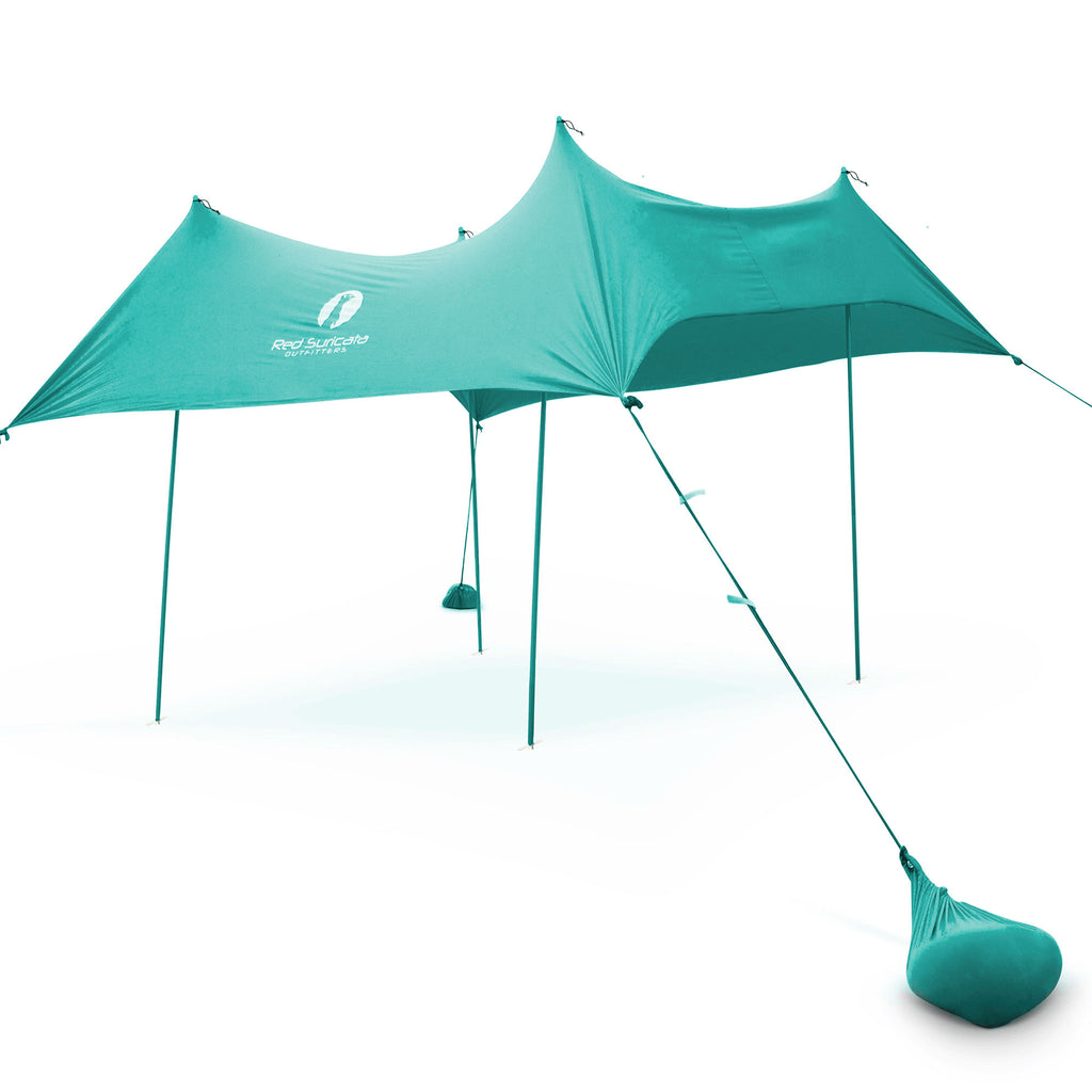 sports shoes e7426 8ce1a Turquoise Lycra Beach Sun Shade Tent! - THE 2019 NEW ...
