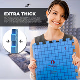 Knit Blocking Bundle – Blocking Mats for Knitting & Knit Blocking Comb Set (Inches Grid)