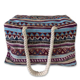 Kiowa Style Waterproof Boho Beach Bag