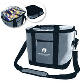 Red Suricata Heathered Grey/Black Collapsible 45can 30L Cooler Bag