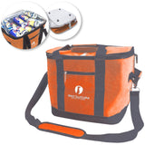 Red Suricata Heathered Orange/Grey Collapsible 45can 30L Cooler Bag
