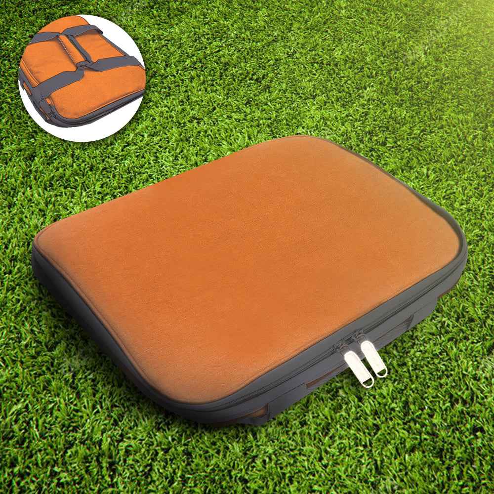 Orange/Grey Collapsible 50 Can Cooler Bag