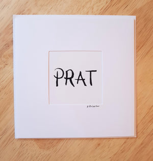Copy of 'PRAT'  CARD