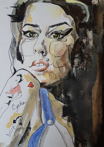 Amy Winehouse portrait (Original)