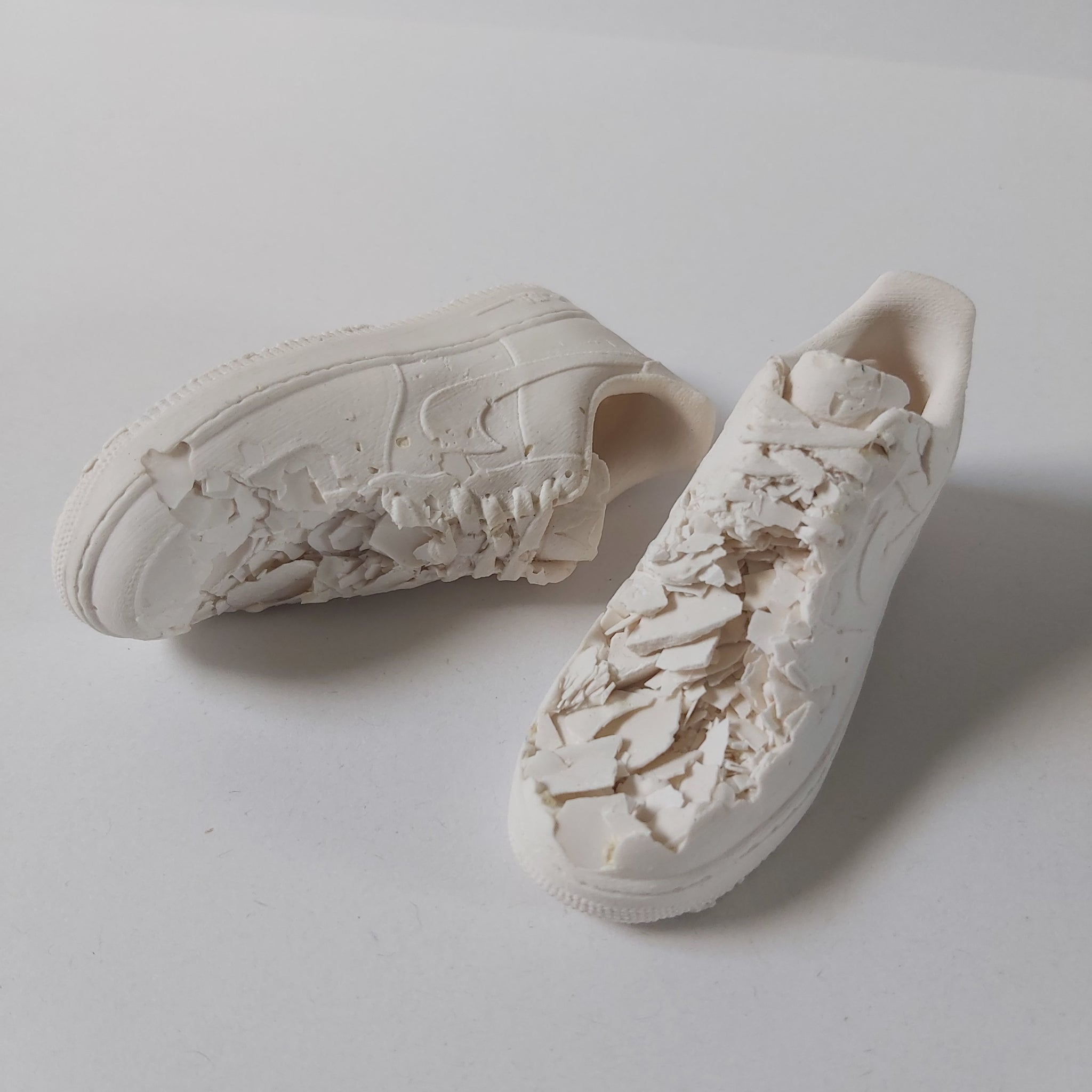 Eroded Sneaker Sculpture