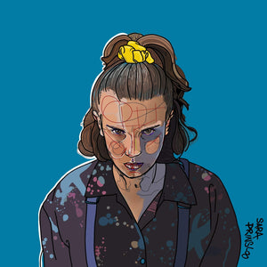 Eleven print (stranger things 3)