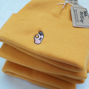 Orange OK Beanie