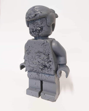 Eroded Grey Lego Man